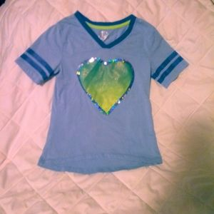 So t shirt with heart